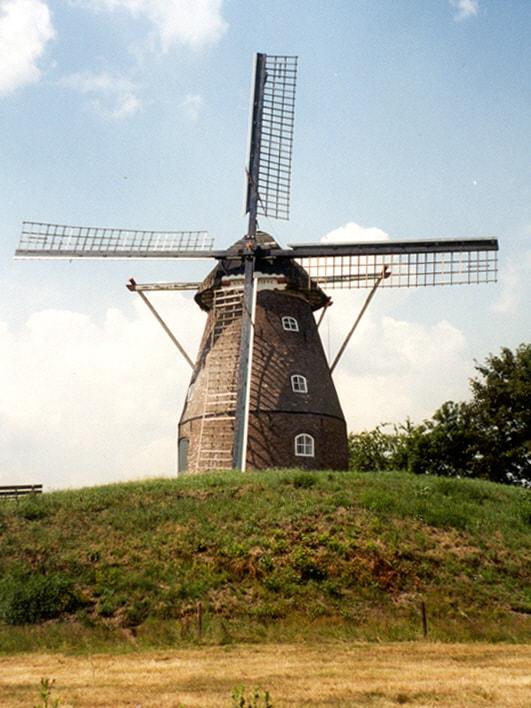 Het Groots Twentsch Maïsdoolhof - molen