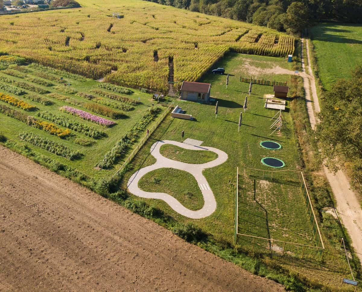 Groot-Twentsch-Maisdoolhof-Twentsche-Bloemenpluktuin-Speeltuin-Fleringen-Twente